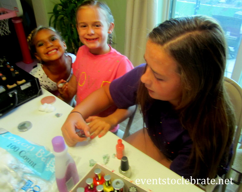 Slumber Party Activities - Nail Polish