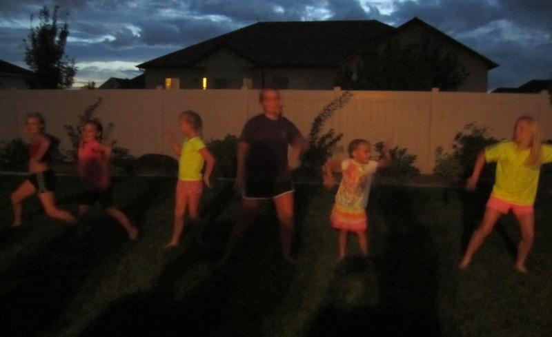 Slumber Party Activities - dancing
