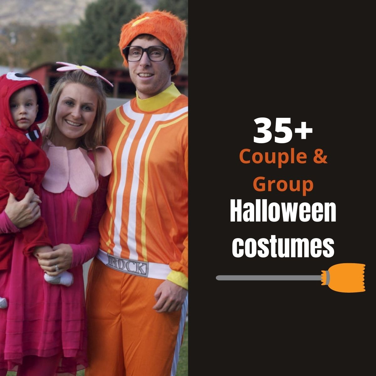 Couple and group costume ideas