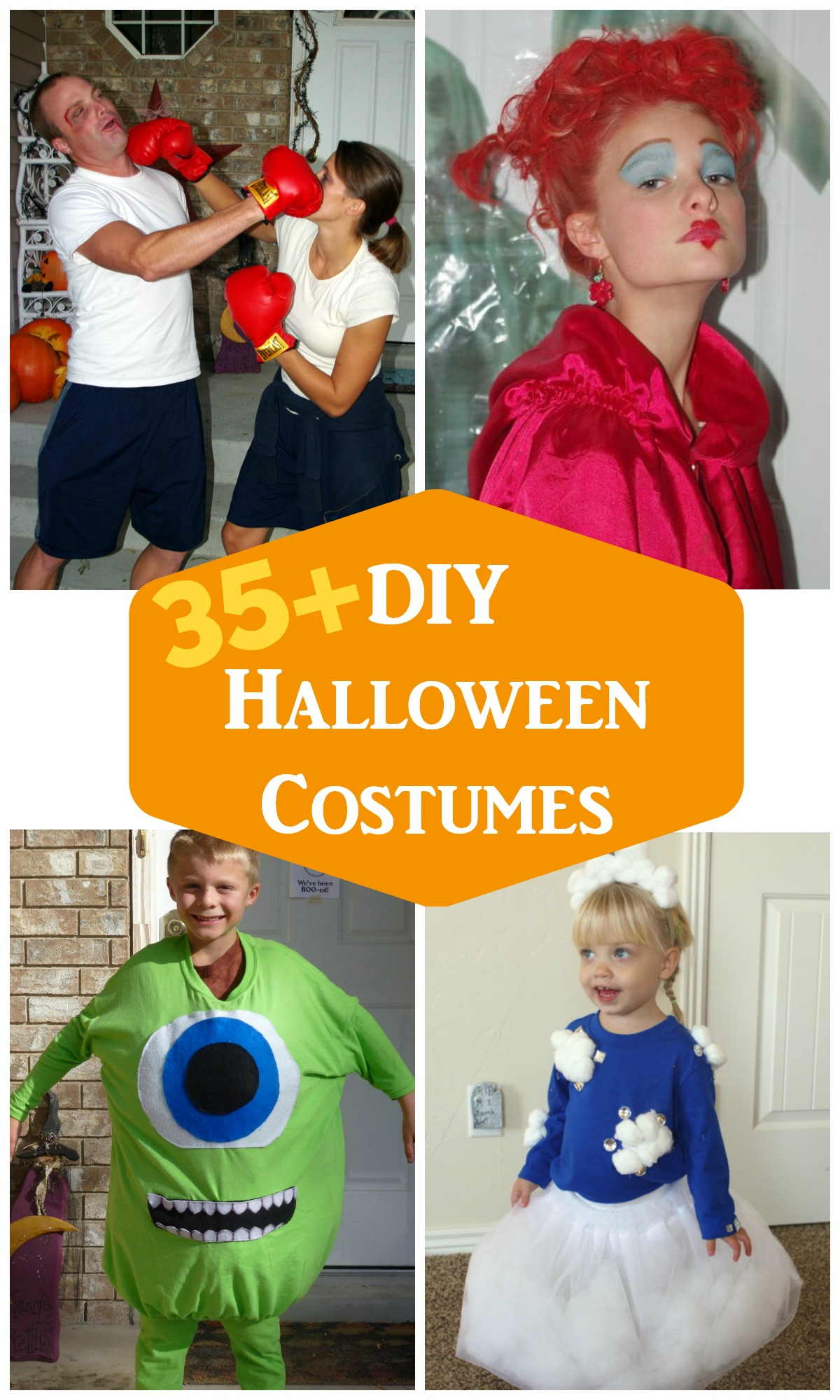 DIY Halloween Costumes & Easy Halloween Costumes 35+ ideas from eventstocelebrate.net