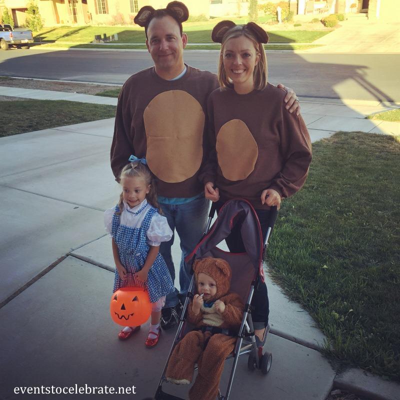 Three Bears Costume