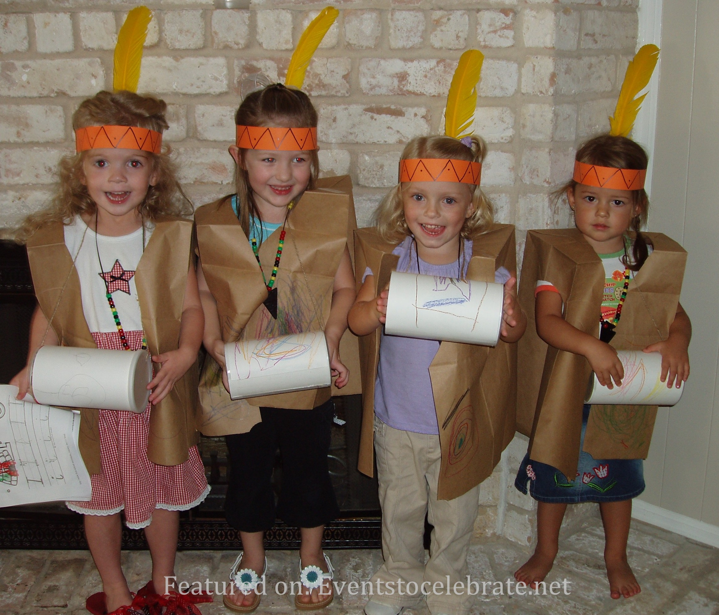 Little Indians Halloween Costume. 35+ Couples Halloween Costumes and Group Halloween Costumes  sc 1 st  events to CELEBRATE! & Halloween Group u0026 Couples Costumes - events to CELEBRATE!