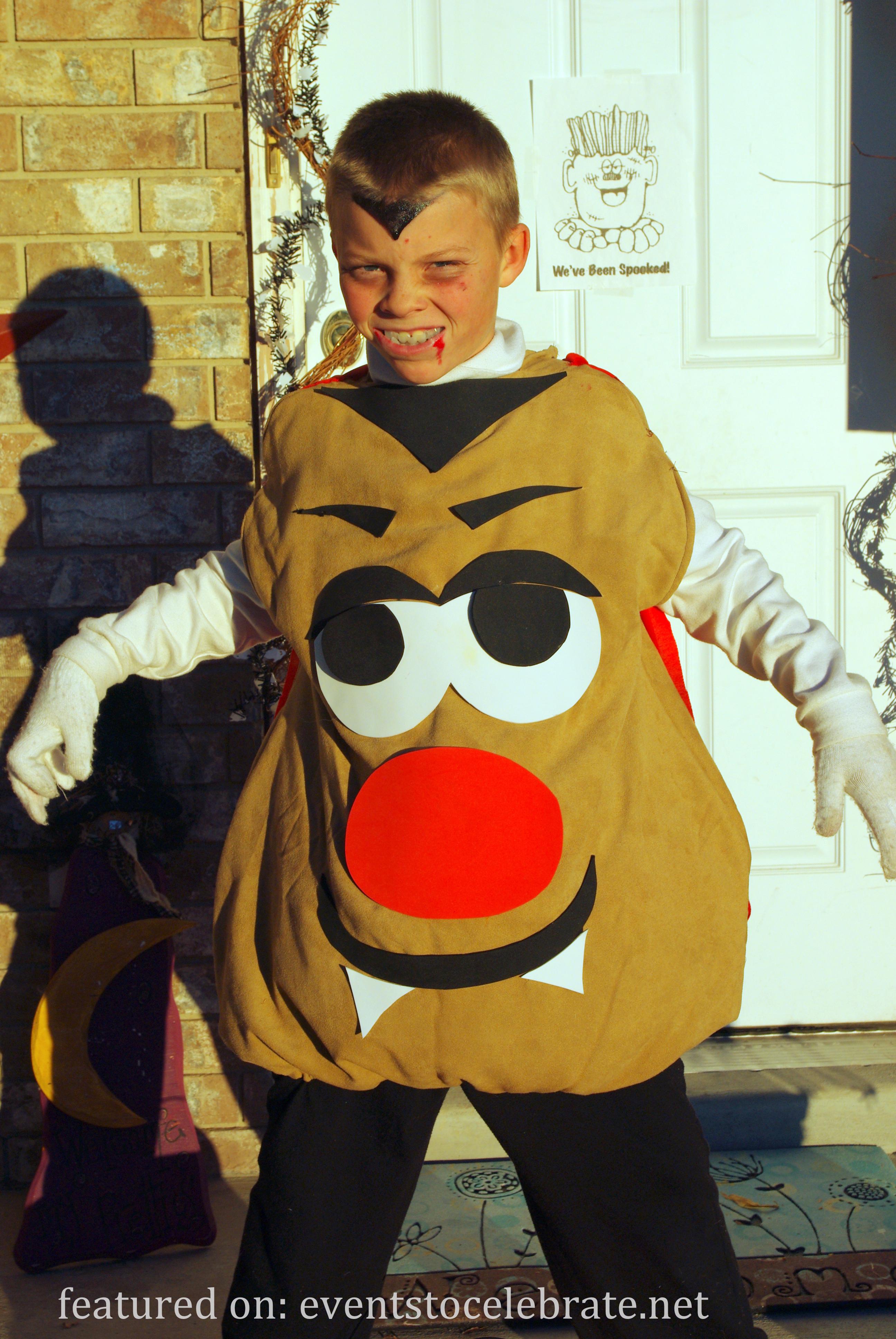 mr potato head halloween costume