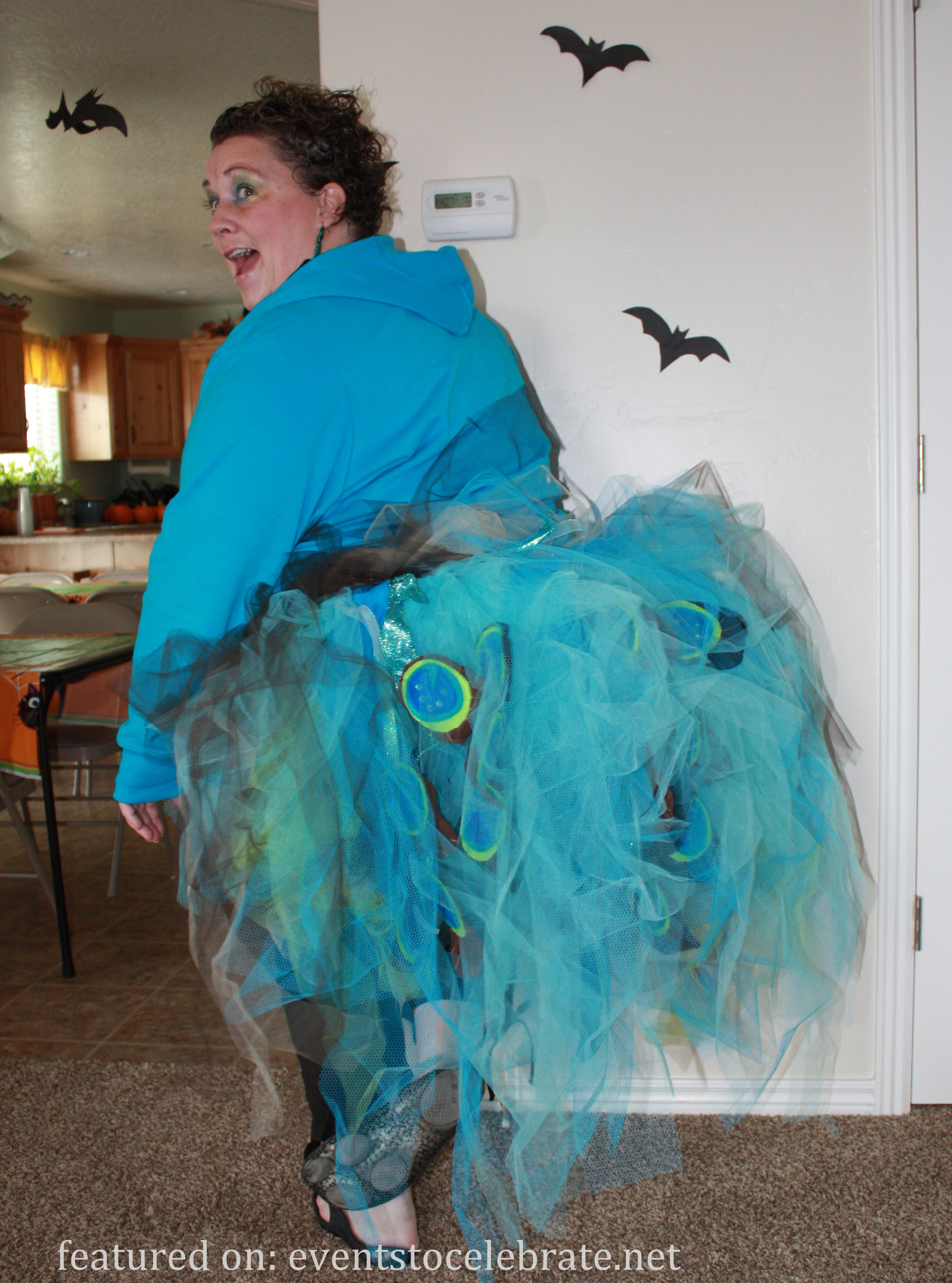 peacock halloween costume - events to celebrate!