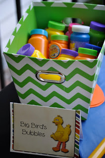 Sesame Street Birthday Party - Bubbles with Big Bird