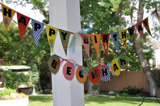 Sesame Street Birthday Party - Garland