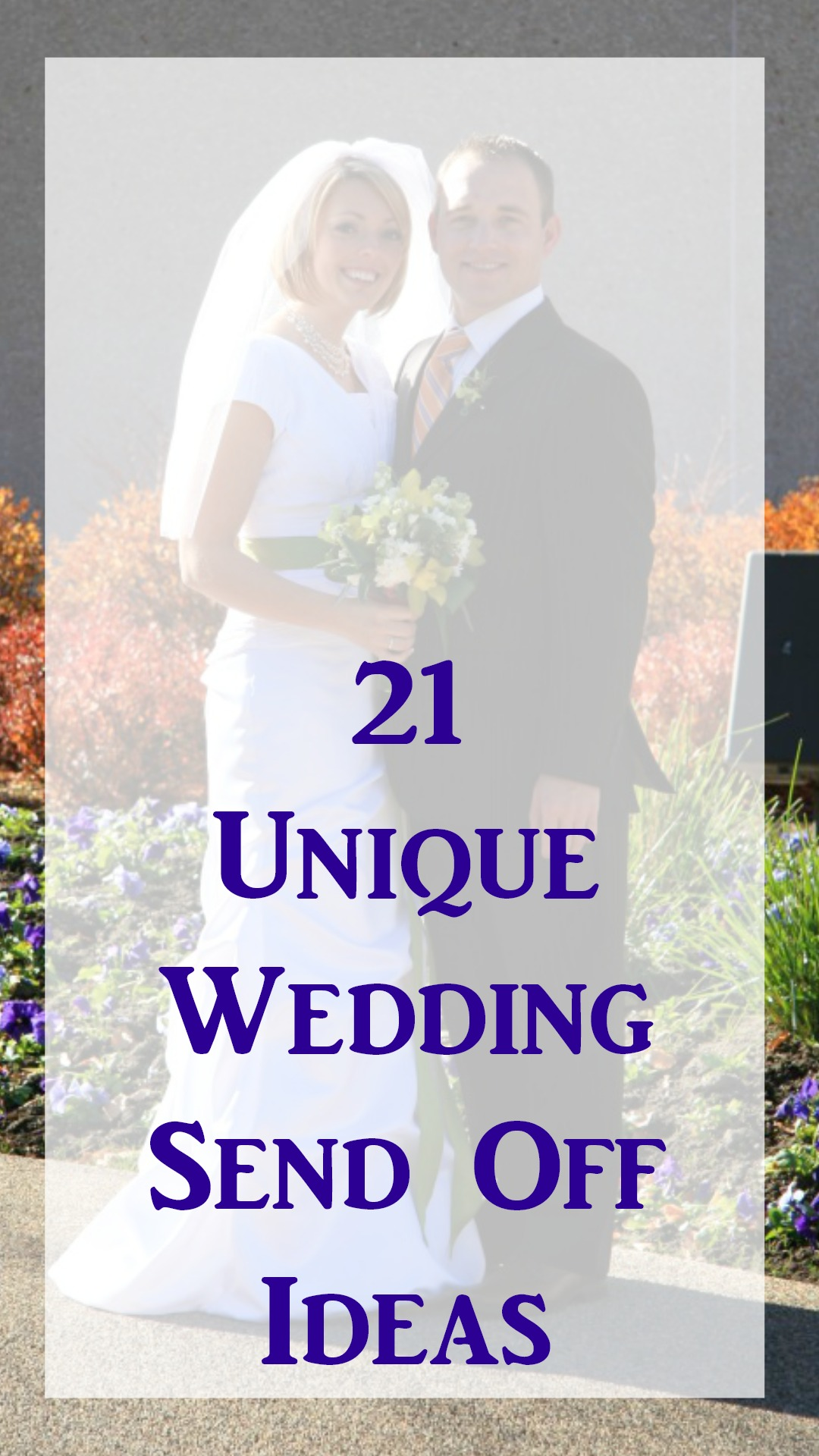 21 Unique Wedding Send Off Ideas - events to CELEBRATE!