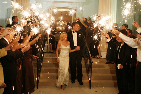 Wedding Send Off Sparklers - events to CELEBRATE!