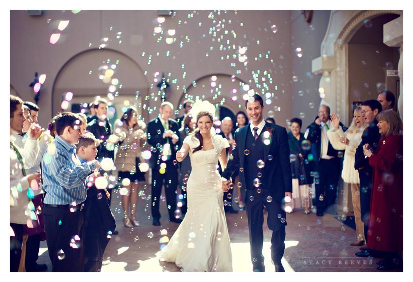 Wedding Send Off Bubbles