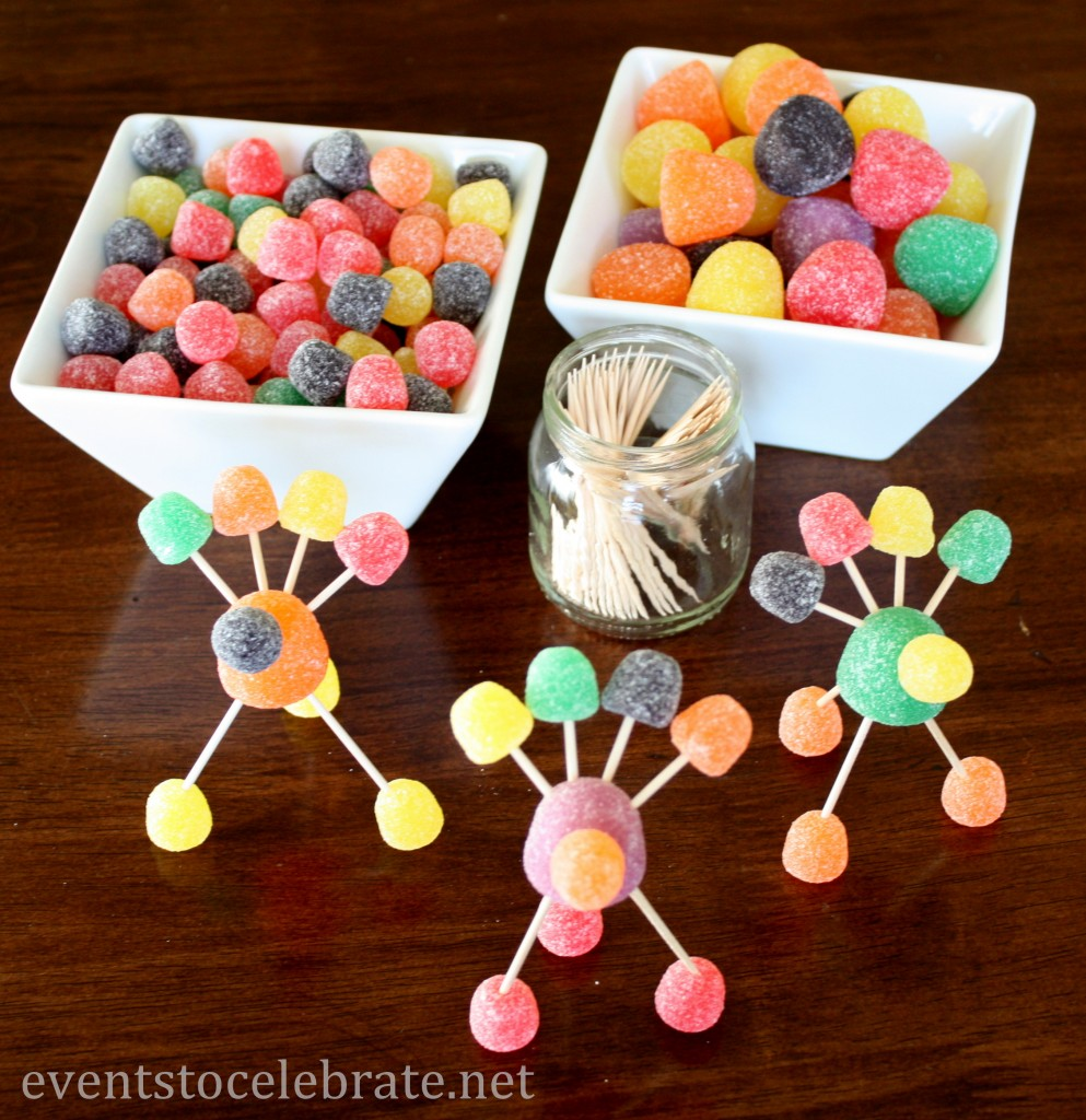 Gumdrop Turkey - Thanksgiving Craft