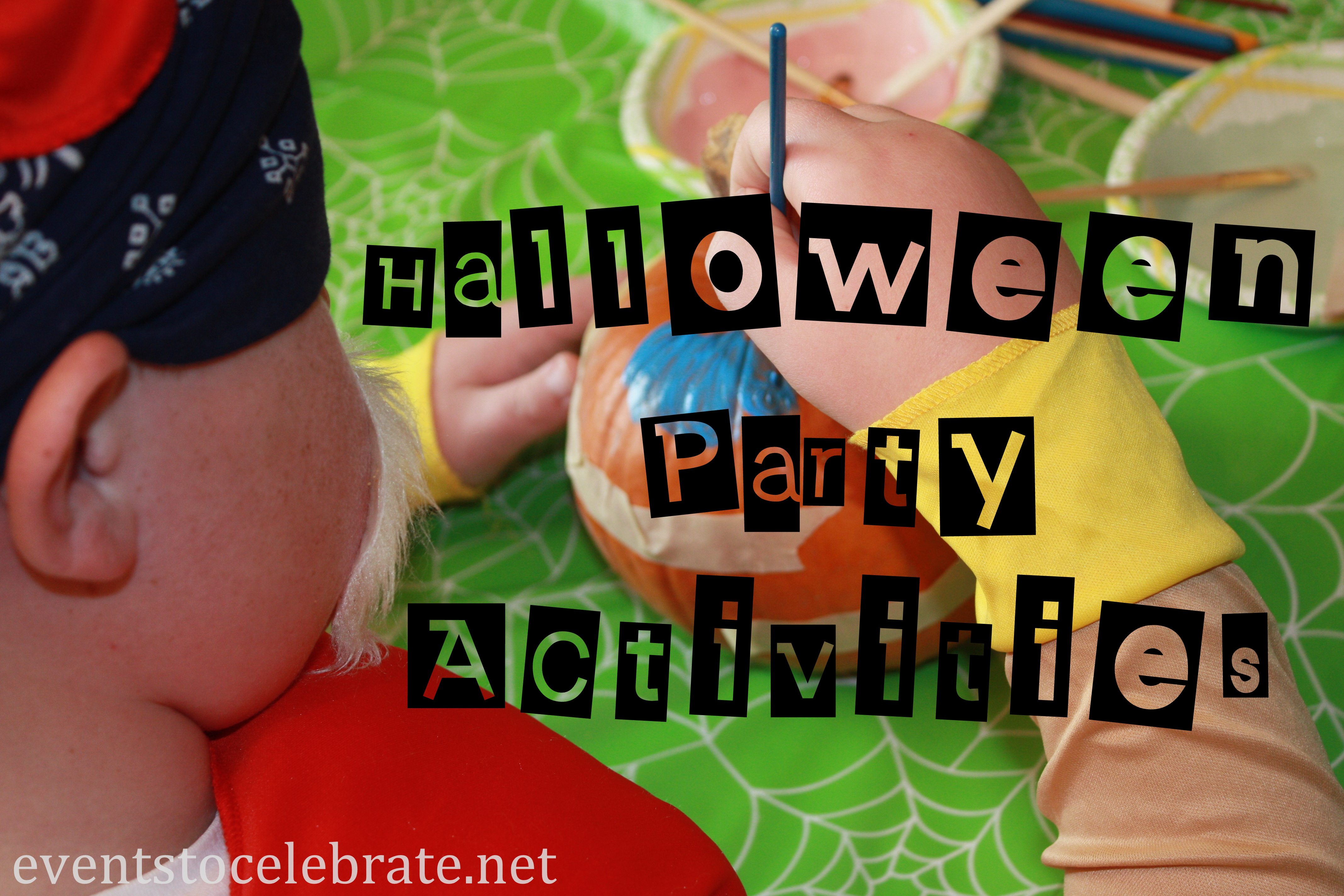 Halloween Party Activities for Kids - events to CELEBRATE!