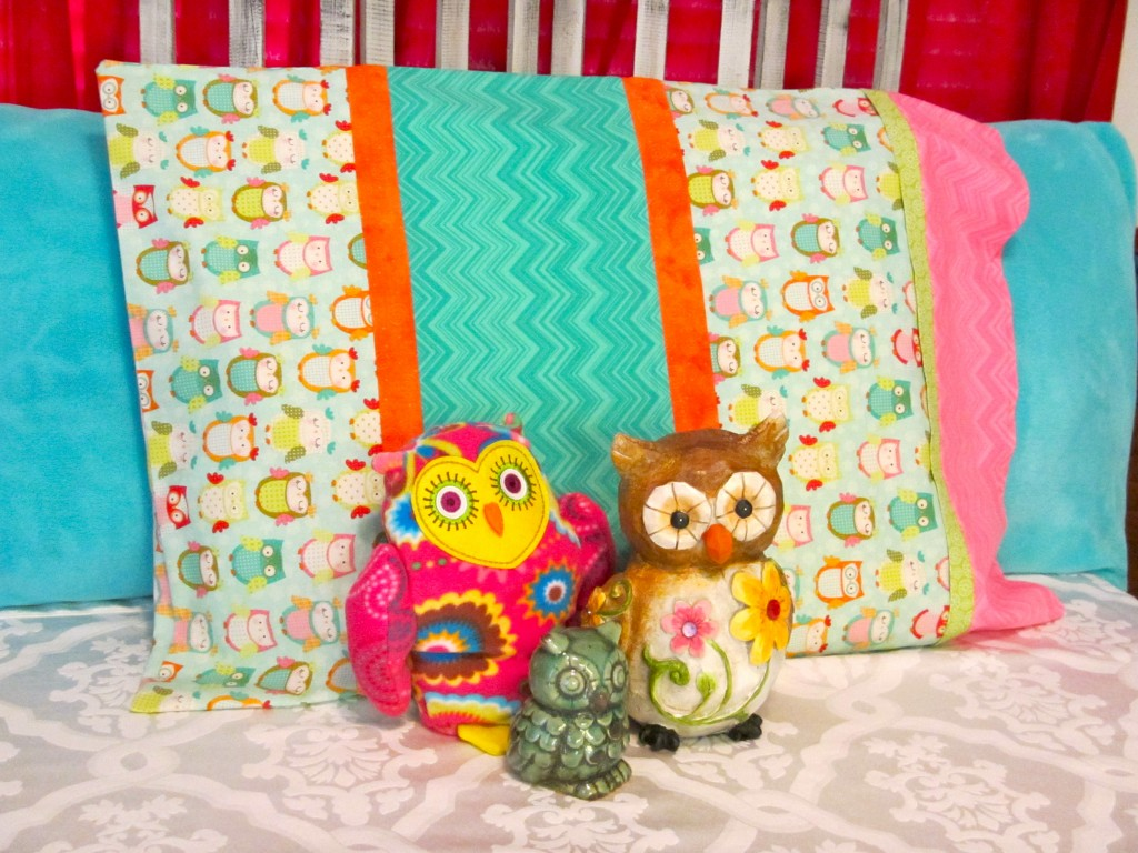 Night Owl Slumber Party Favor - DIY Pillowcases
