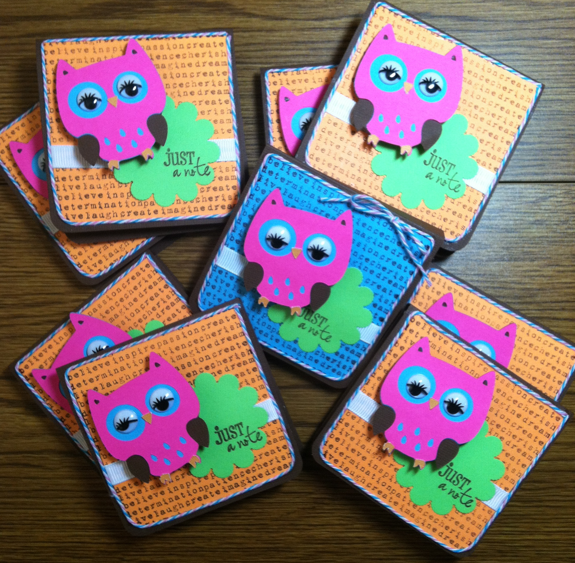 Night owl themed slumber party events to celebrate night owl slumber party favors owl post it notes filmwisefo