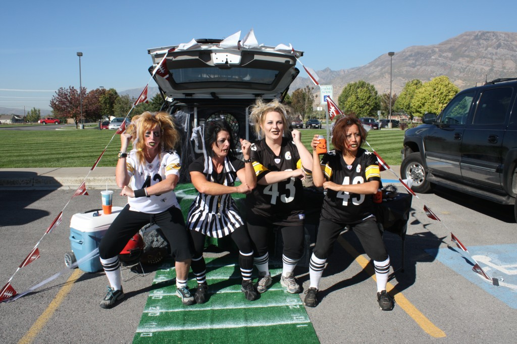 Trunk or Treat Football Toss