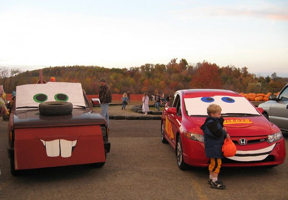 Trunk or Treat - Mater & Lightning McQueen