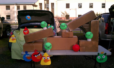 Trunk or treat - Angry Birds