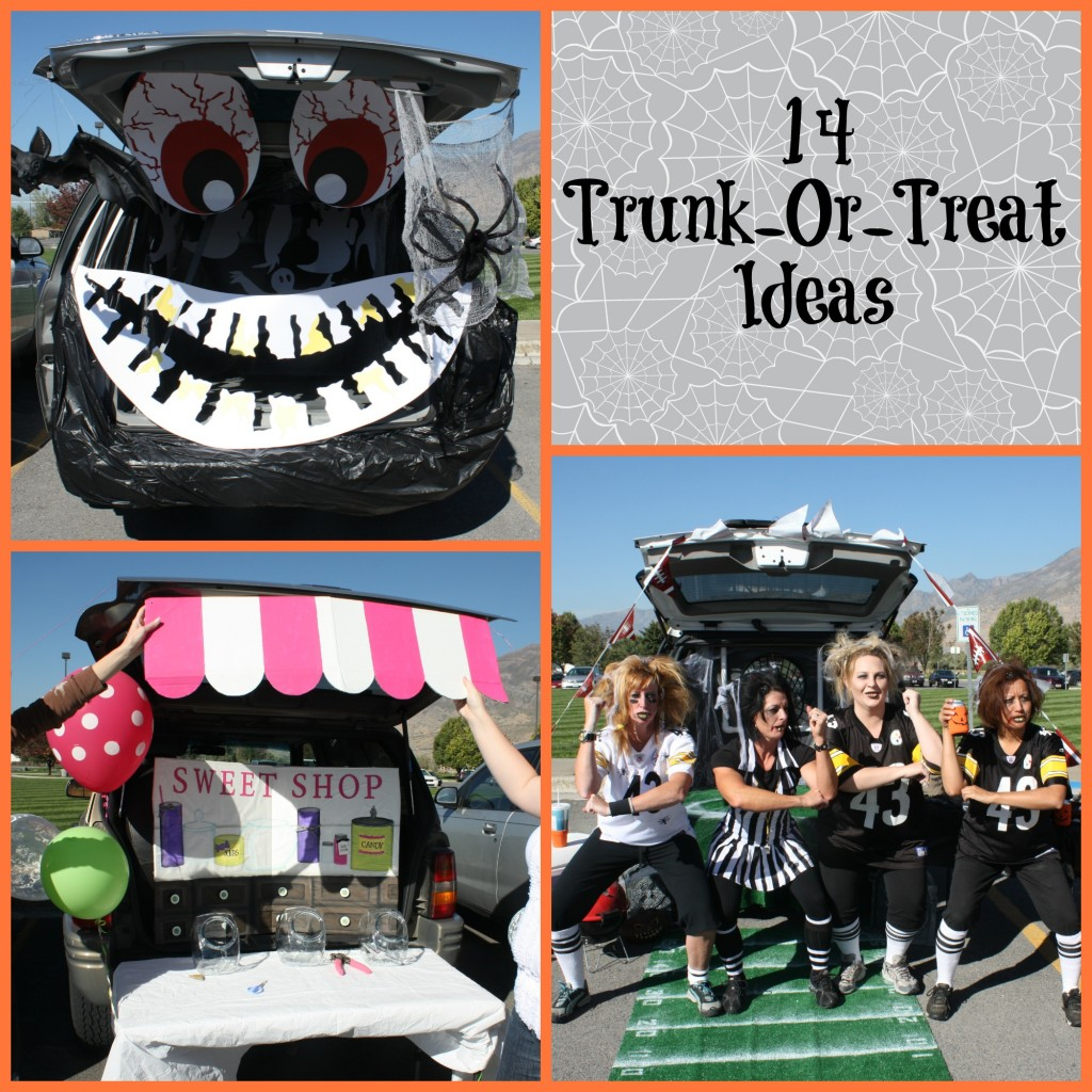 trunk or treat ideas events to celebrate