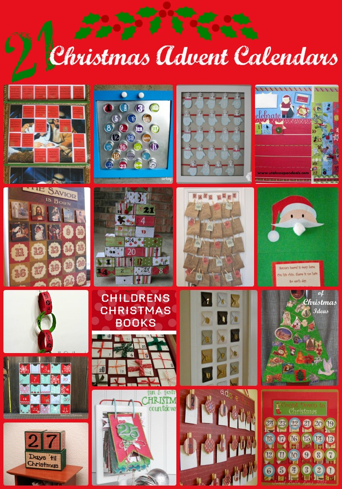 21 Christmas Advent Calendars - Events To Celebrate