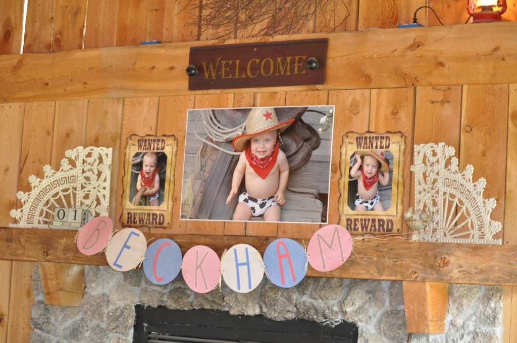 Cowboy Birthday Party Decor
