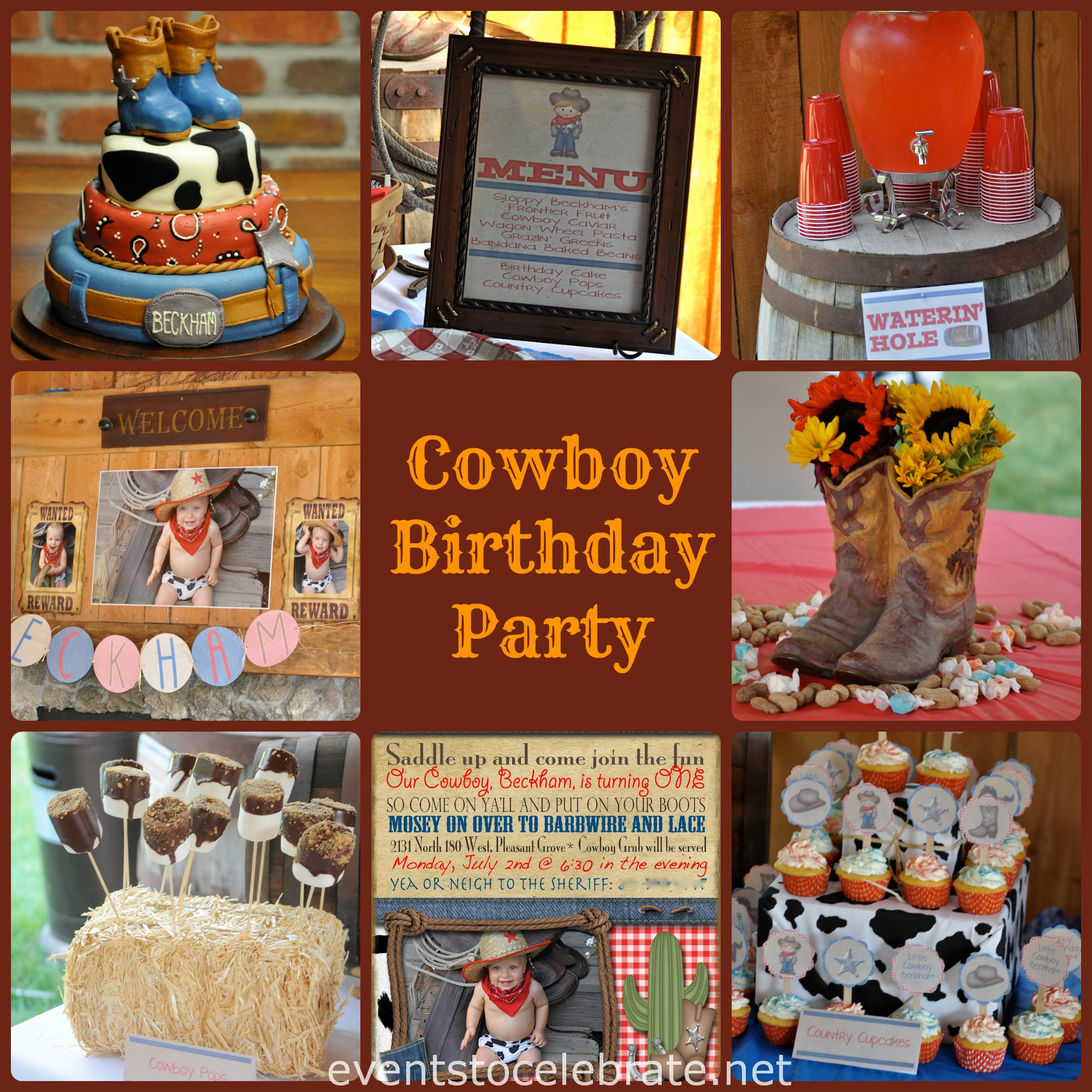 Cowboy Birthday Party Ideas Events To CELEBRATE