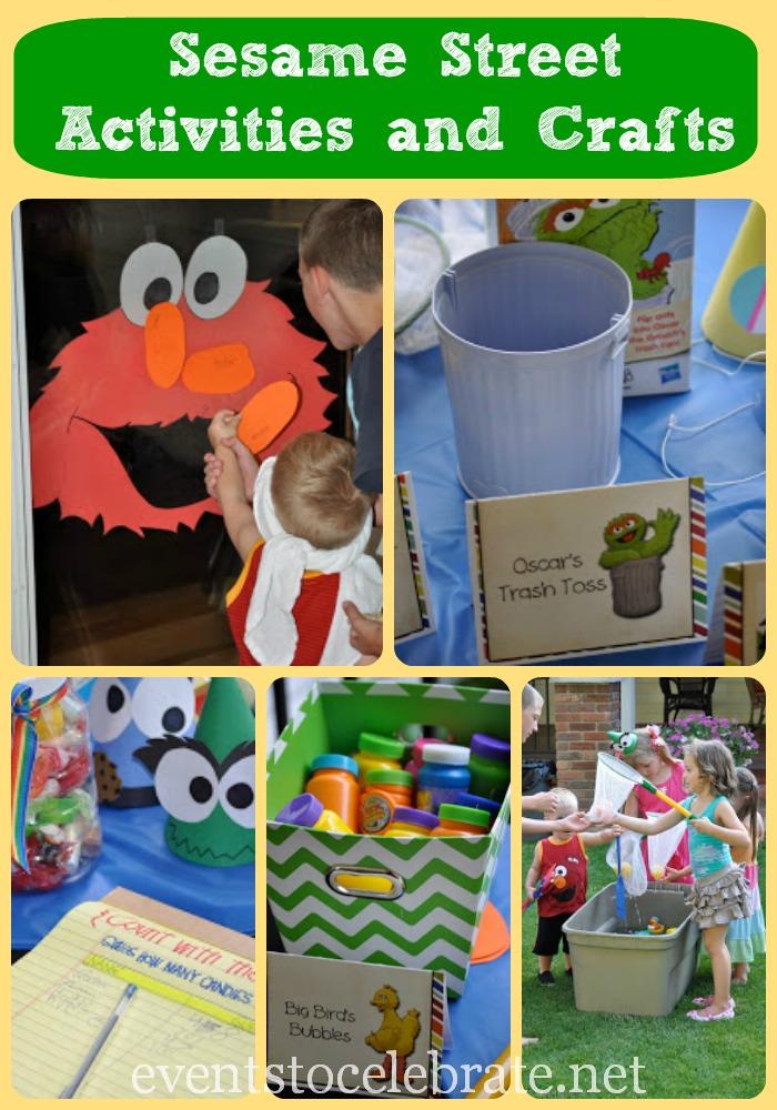 Sesame Street Activities amp Crafts
