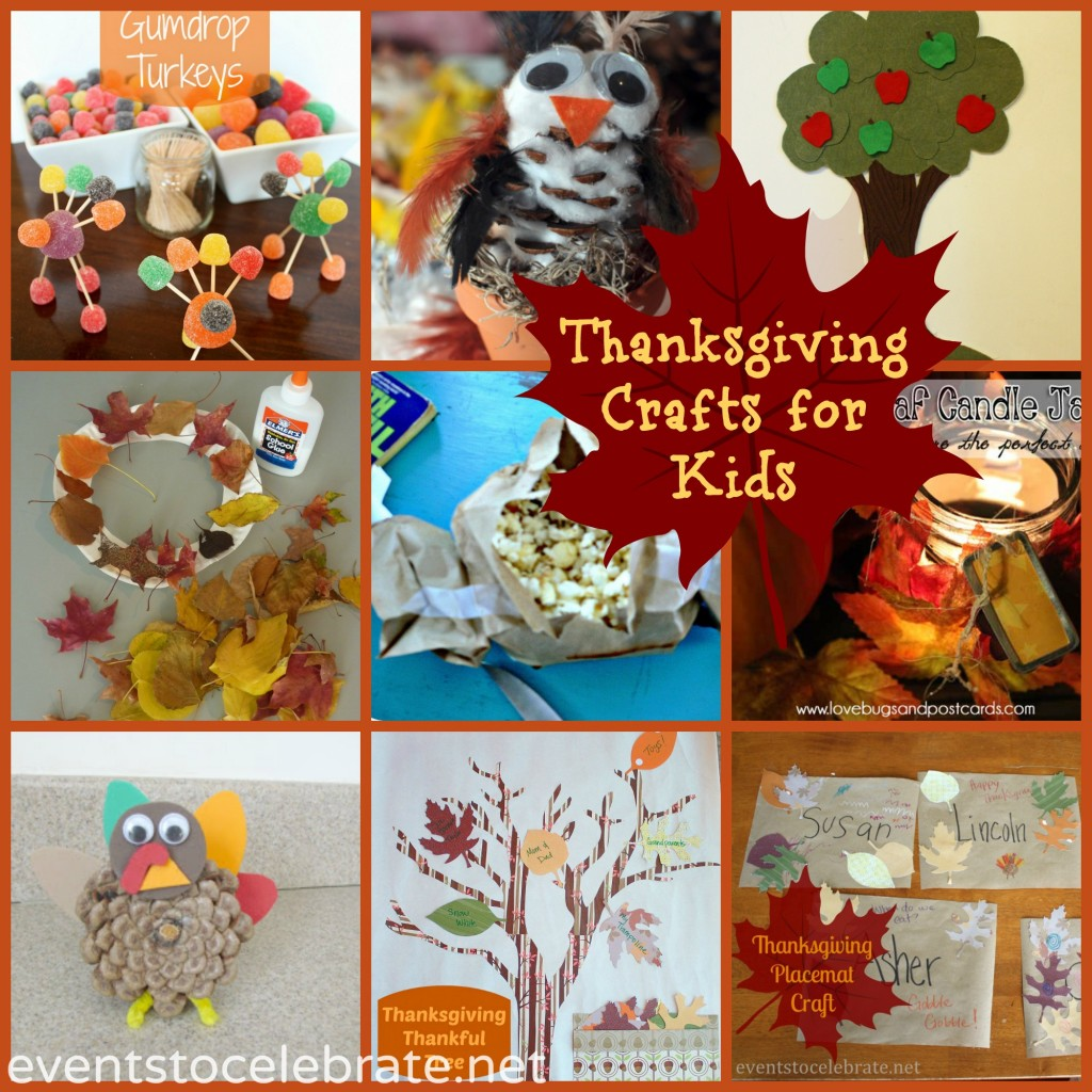 Thanksgiving Crafts for Kids! events to CELEBRATE!
