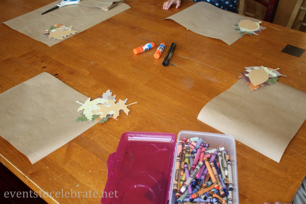 thanksgiving crafts for kids placemats events to