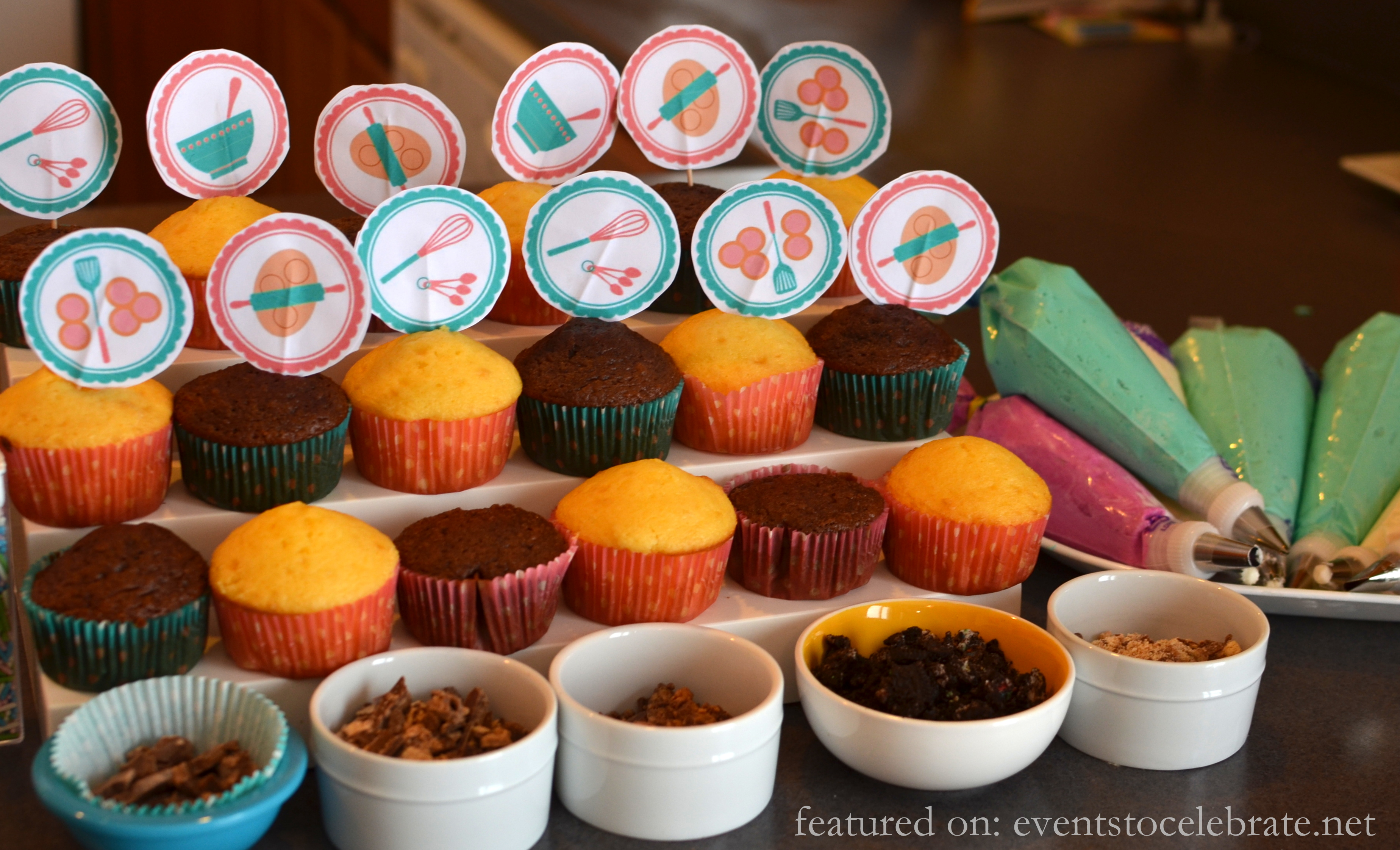 Baking Birthday Party - events to CELEBRATE!
