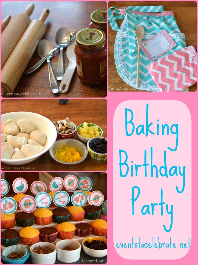 Baking Birthday Party Ideas - events to CELEBRATE!