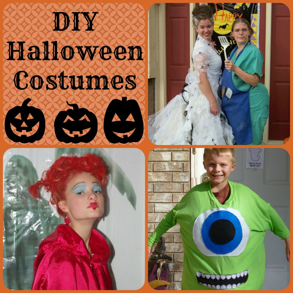 DIY Halloween Costumes - events to CELEBRATE!