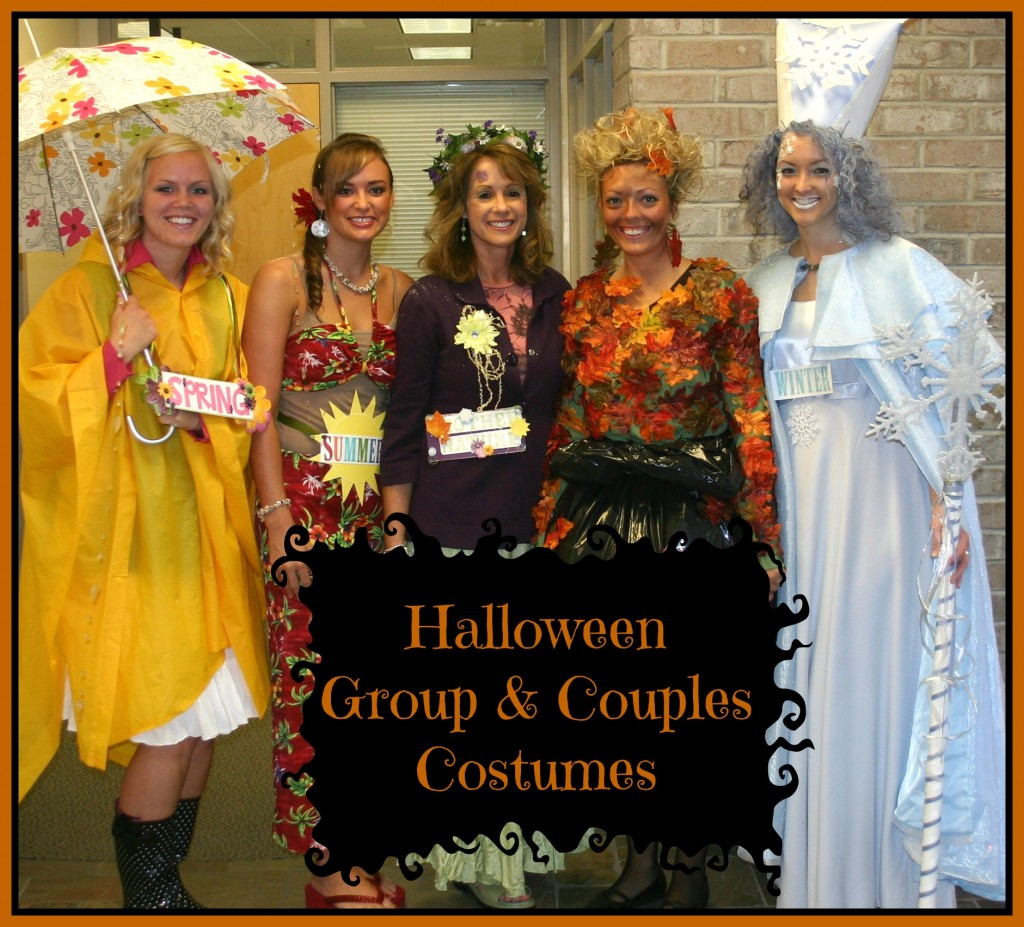 Group Halloween Costumes - events to CELEBRATE!