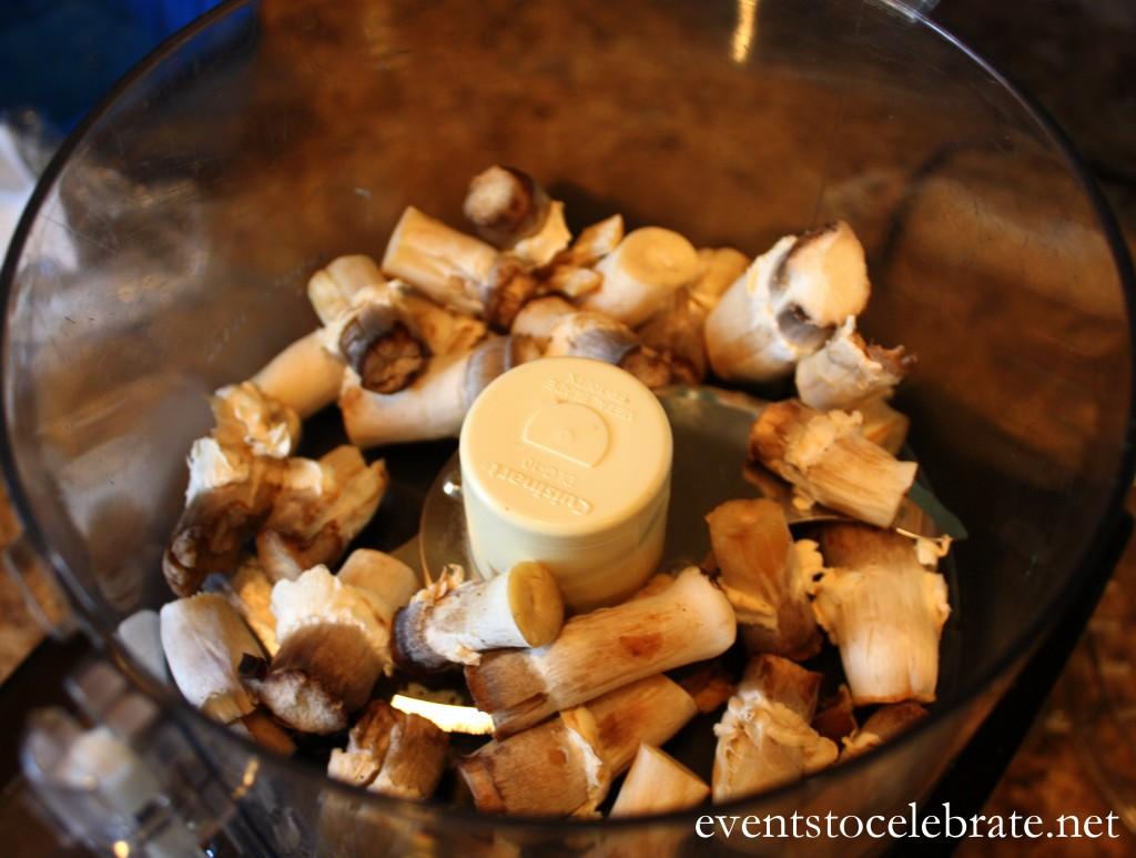 Sausage Stuffed Mushrooms - events to CELEBRATE!