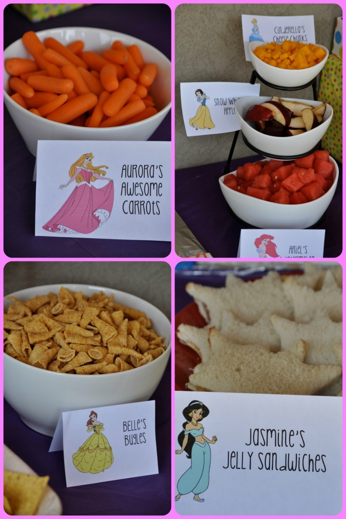 Princess Birthday Party Food - events to CELEBRATE!