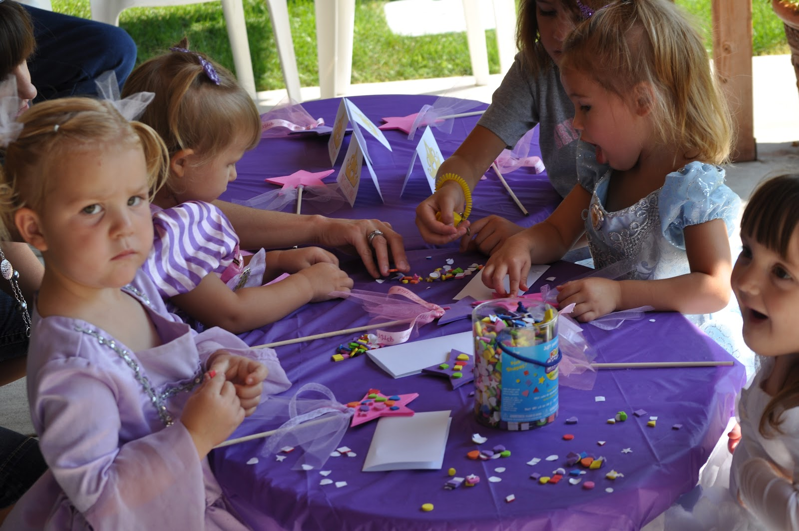 Princess Birthday Party Magic Wands Wand Decorating