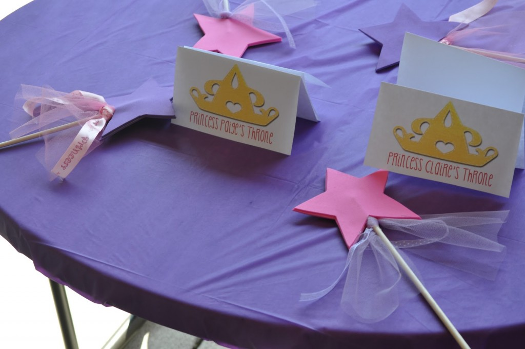 Princess Birthday Party Magic Wands