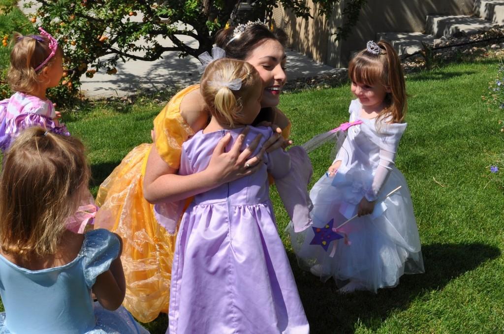 Princess Birthday Party REAL Princess