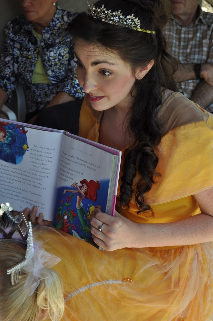 Princess Birthday Party Story by Belle