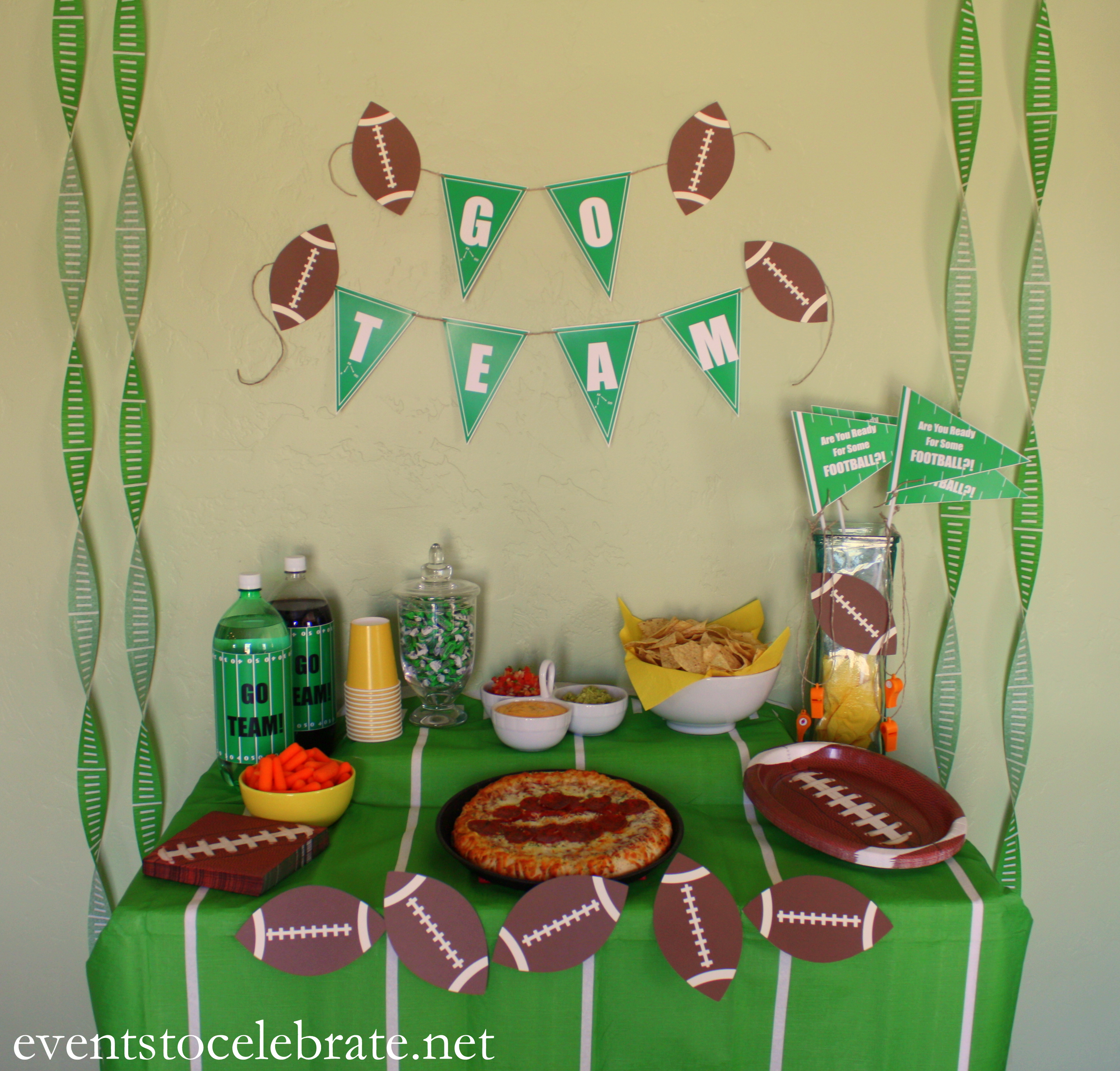 Football Birthday Party Archives Events To CELEBRATE
