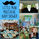 Mustache Baby Shower - events to CELEBRATE!