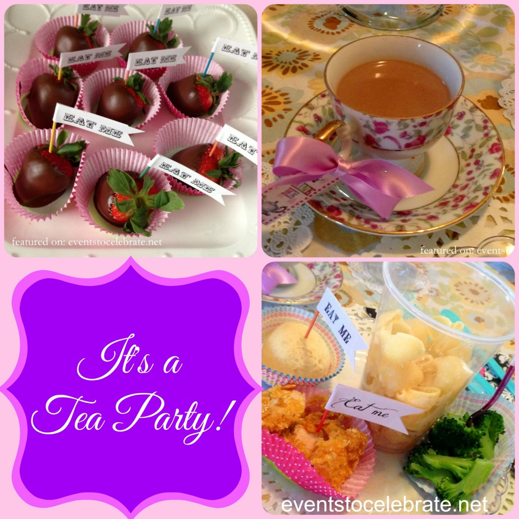Tea Party Birthday - Events To Celebrate