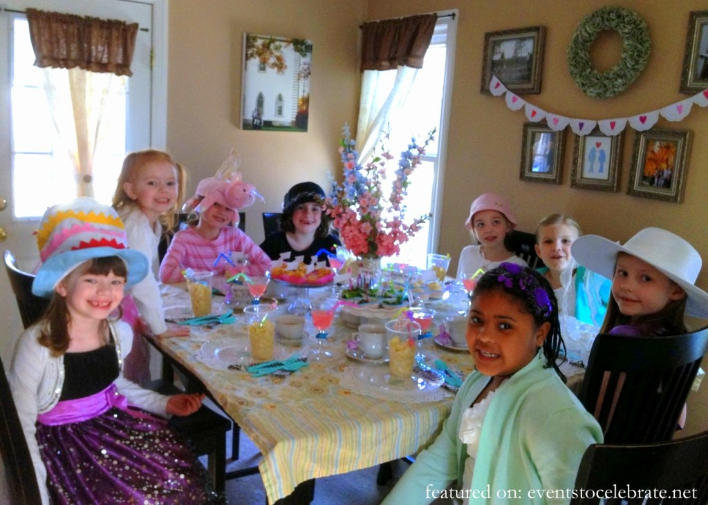 Tea Party Guests
