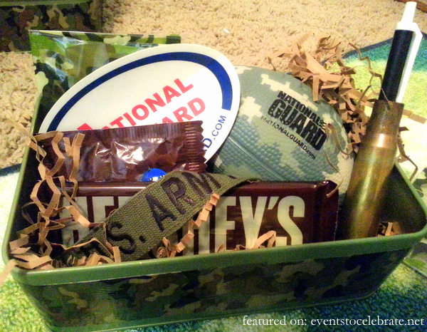 Army Birthday Party Favors