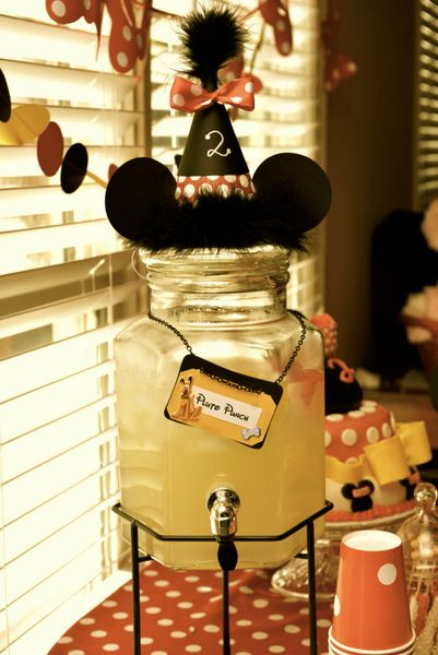 Minnie Mouse Drinks