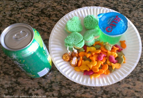 St Patricks Day Tricks - Lucky Lunch