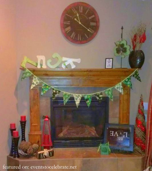 St Patricks Day Tricks - Upturned Decor