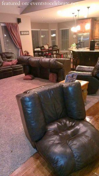 St Patricks Day Tricks - Upturned Furniture
