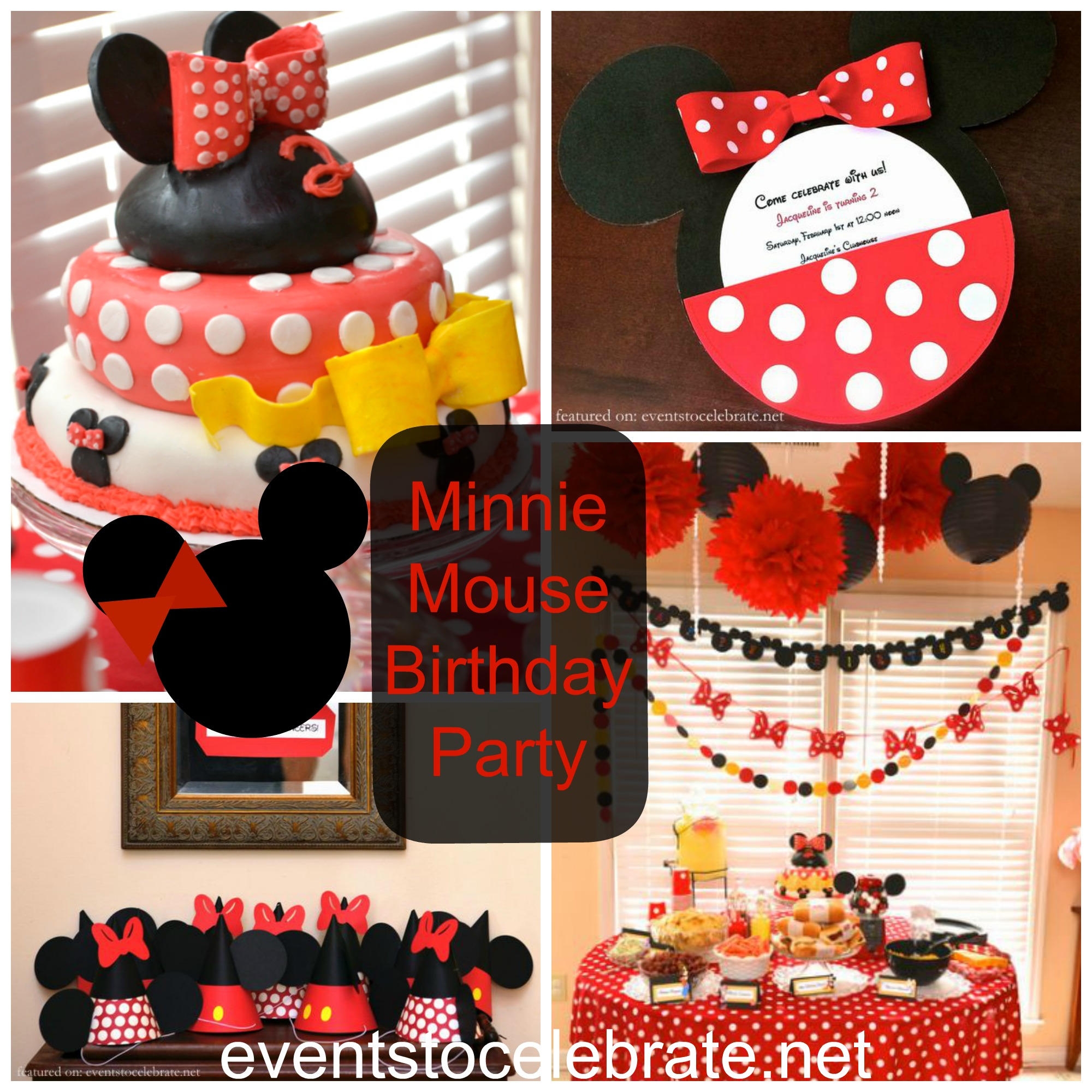 Minnie Mouse First Birthday Outfits For Cake