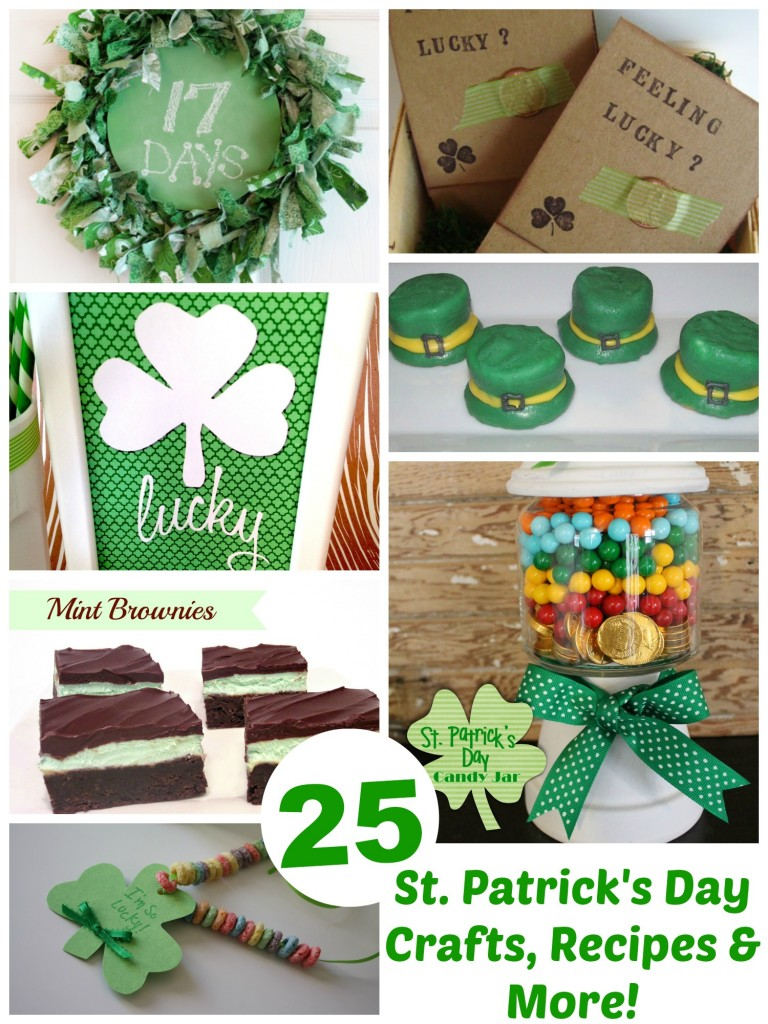 St. Patricks Day Treats, Crafts & More - Events To Celebrate