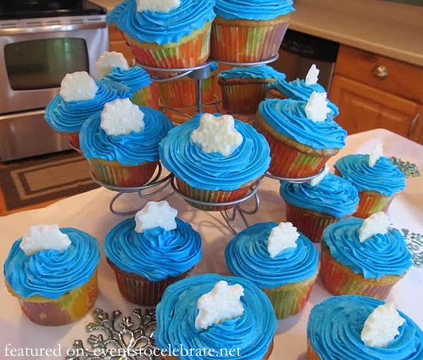 Tinkerbell & Periwinkle Cupcakes