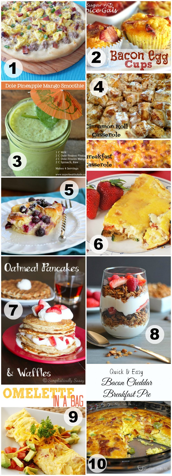 Brunch Recipes - Events To Celebrate